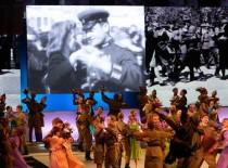 7 мая 2014 года делегация Песчанокопского района приняла участие в церемонии возложения гирлянды Славы в г. Ростове-на-Дону.