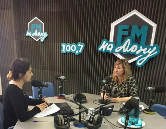 Интервью радио ФМ-на-Дону