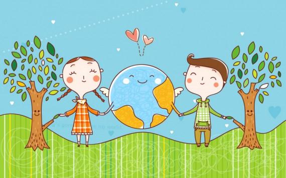 «Земля – наш Дом: экология в рисунках детей»