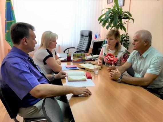 Рабочий визит в Песчанокопский и Сальский районы