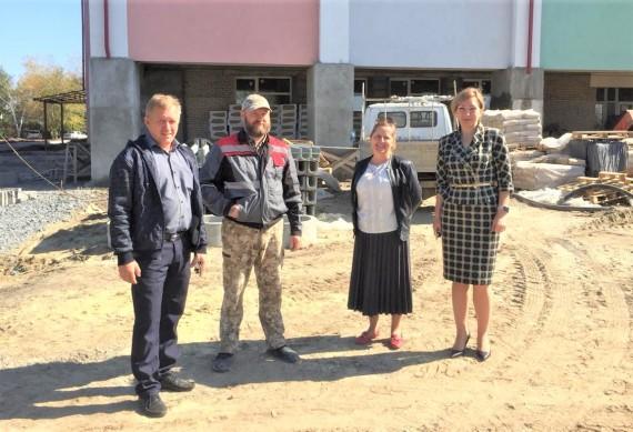 Рабочий визит в Песчанокопский район