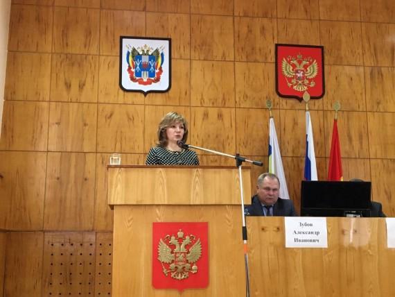 Встреча с избирателями Песчанокопского района
