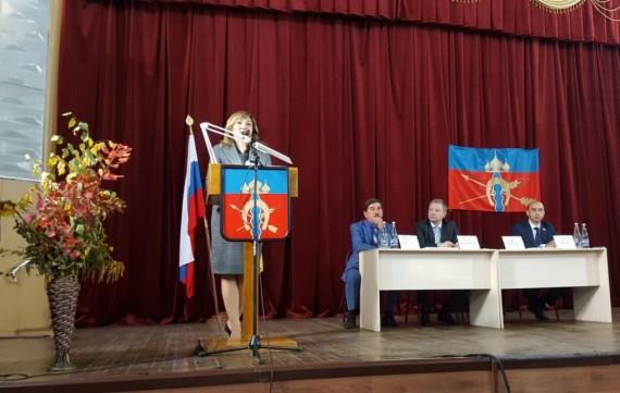 Встреча с избирателями в Веселовском районе