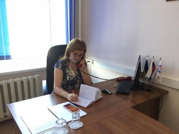 Прием в Песчанокопском районе