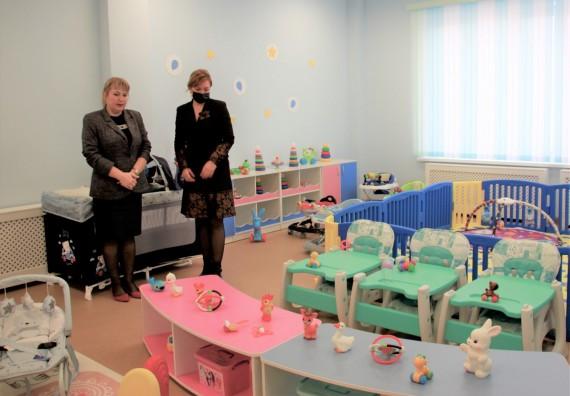 Новый детский сад в Вересаево