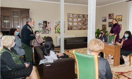 Встреча с активом Целинского района