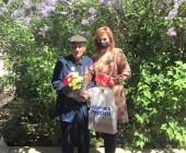 Поздравление ветеранов Песчанокопского района