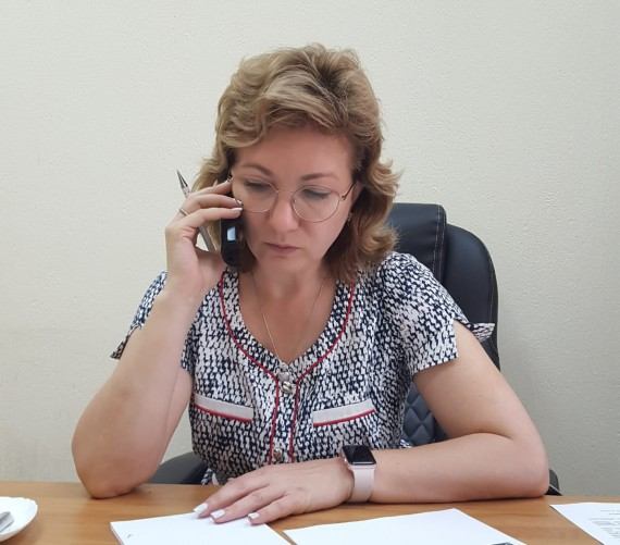 Лариса Тутова провелаприемграждан по вопросамтуризма